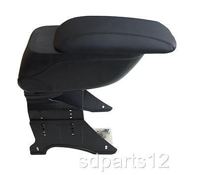 Black Armrest Centre Console Arm rest for PEUGEOT 206 306 406 207 307 407 new