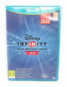 DISNEY-Infinity-2-0-solo-Gioco-Nintendo-Wii-PAL-UK-no-U-MANUALE