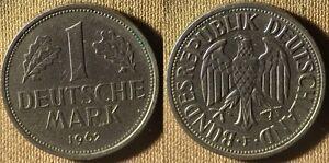 Germany-Fed. Rep : 1962F  1 Mk  XF-AU   #110  IR4009