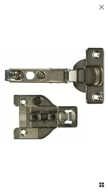 Grizzly H9823 Mepla Face Frame Overlay Hinge 5 8 In 3 4