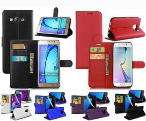 Housse-etui-pour-Samsung-Galaxy-S6-EDGE-Magnetique-Flip-Portefeuille-en-cuir-porte-carte