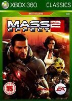 MASS EFFECT 2 XBOX 360 REGION FREE SEALED NEW