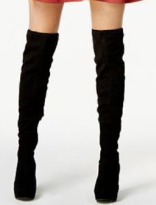 Bar III para Mujer Noche Imitación Gamuza Tacones sobre la rodilla botas US 9
