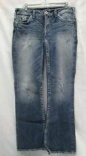 "Silver Jeans ""Aiko Bootcut"" Ladies Jeans Medium Wash Ladies Jeans Size W31/L33"