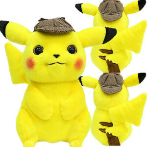 Pokemon-Detective-Pikachu-10-5-034-Collectible-Figures-Soft-Doll-Plush-Toy-Kid-Gift