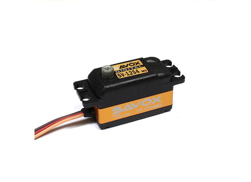 Savox SV1254MG Alto Voltaje Digital Servo Coreless 15.0 208.3 @ 7.4V savsv 1254MG