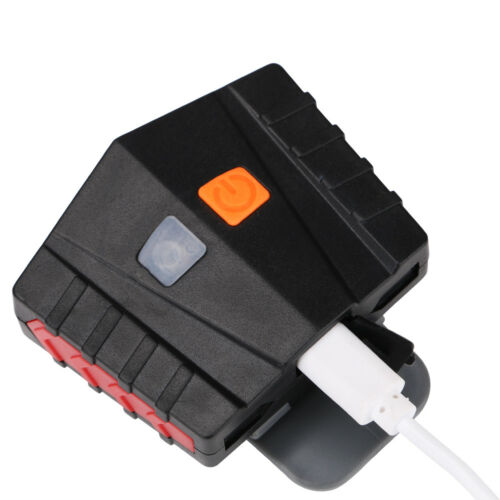 Bright COB LED Headlamp /& Cap Lamp Rechargeable Sensor Emergency Hand Torch