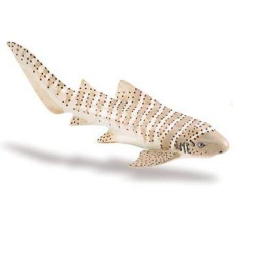 Safari Ltd 223329 Tiburón Cebra 13cm Serie Animales Acuáticos