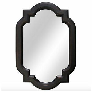 Bronze Framed Wall Mirror Hanging Bathroom Vanity Home Bath Decor Decorative New Ebay