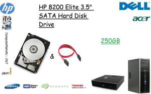 250-GB-HP-8200-Elite-3-5-034-SATA-Unita-Disco-Fisso-HDD-SOSTITUZIONE-UPGRADE