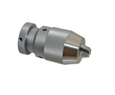 JT6 Self Clamp B10~B22 Drill Chuck Keyless For Drilling Machine Taper Feeding US