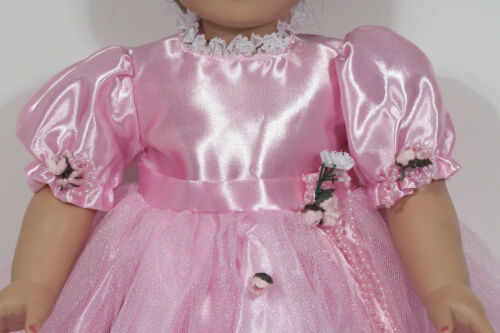 """Debs PINK Princess GOWN Prom Dress w//TIARA Doll Clothes For 18/"""" American Girl"""