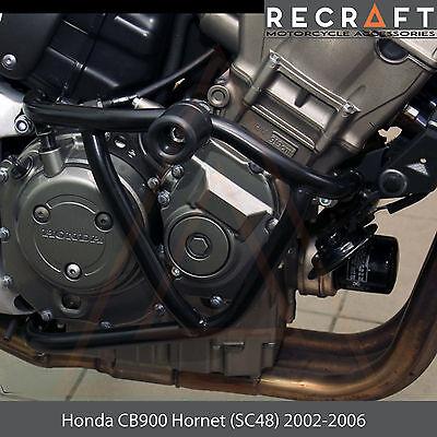 SSR Black Passenger Grab Rail Hole Cover Plate Caps for Honda 919 Hornet 900 CB900F 2002+