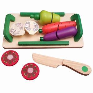 Gemüseschneide 13-teilig Set RS 930 A Kinderküchen-Z<wbr/>ubehör Holzspielzeug-<wbr/>Peitz