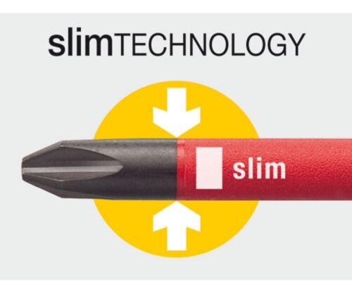 Wiha 28390 Insulated Narrow Profile SlimLine 15 Piece Set