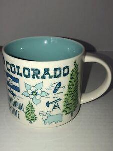 Starbucks Colorado Been There Series Coffee Mug 14 Oz Rocky Mnts. +