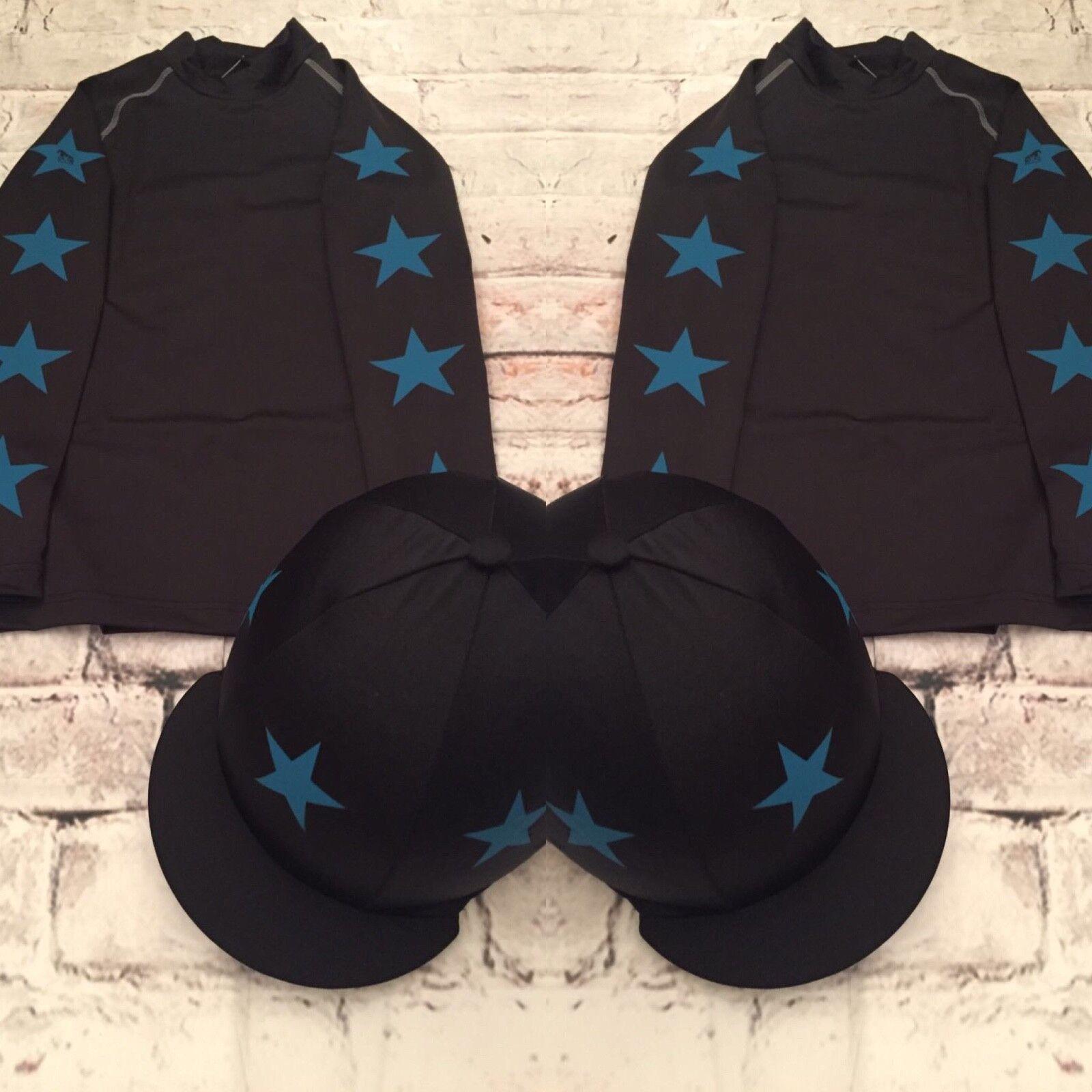 SXC Eco Star Cross Country Color XC estrellas Concurso Completo Ecuestre de cubierta de seda Sombrero