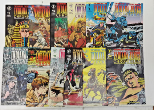1992-93 Young Indiana Jones Chronicles DH Comic Book #1-12  Your Choice or Sets