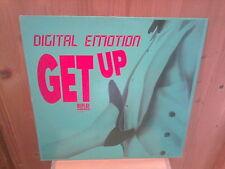 "DIGITAL EMOTION get up! 12"" MAXI 45T"