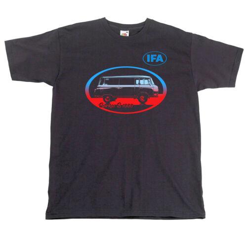 T-Shirt DDR Fahrzeug Barkas Retro Ost Auto IFA