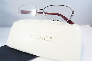 7ad8f80aa992 Versace Women's Silver Glasses with case MOD 1215-B 1000 53mm ...