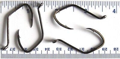 100 Matzuo 141010 Black Sickle Octopus Fish Fishing Hooks size 2-100 hooks