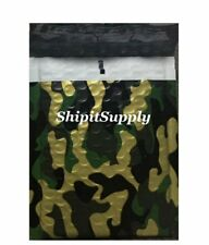 1 300 2 85x12 Camo Color Camouflage Poly Bubble Mailers Fast Shipping