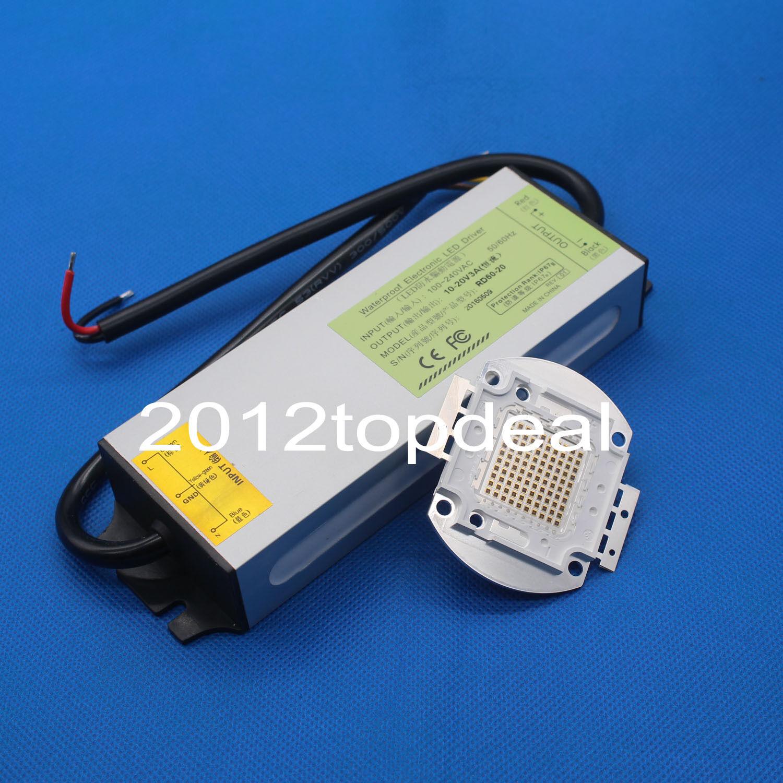 100W Infrarrojo Infrarrojo 850NM 940NM 730NM Alta Potencia LED+100W 15-20V Impermeable Controlador