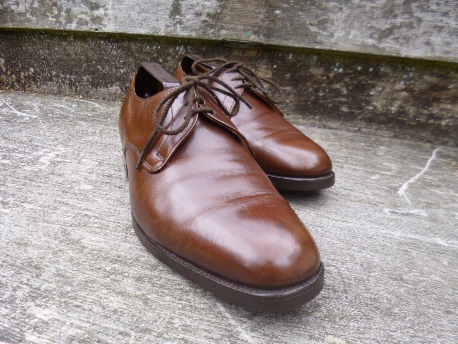 CHEANEY / CHURCH VINTAGE DERBY – BROWN - UK 7 – CHALFONT – VERY GOOD CONDITION