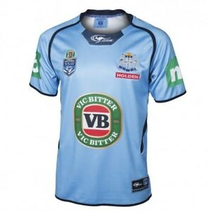 97dee6d1c3d New South Wales Blues State Of Origin Premium Players Style Jersey ...