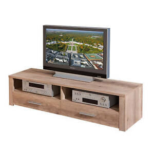 Meuble-TV-hifi-meuble-de-rangement-bas-commode-console-decor-chene