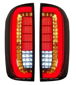 PERFORMANCE TAIL LIGHT LAMP (3D LED SMOKED) for NISSAN NAVARA D23 NP300 2016 -ON