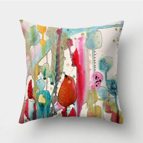 Sofa Polyester Home Cover Cushion Case Pillow Decor Waist 18/'/' Throw