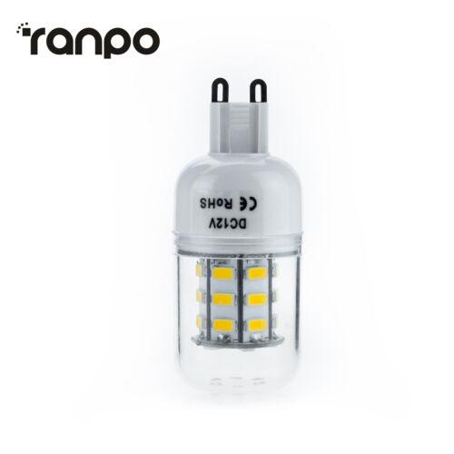 Dimmable E27 E14 B22 7W LED Corn Bulbs Light 5730 SMD Lamp Bright 220V 12V 24V