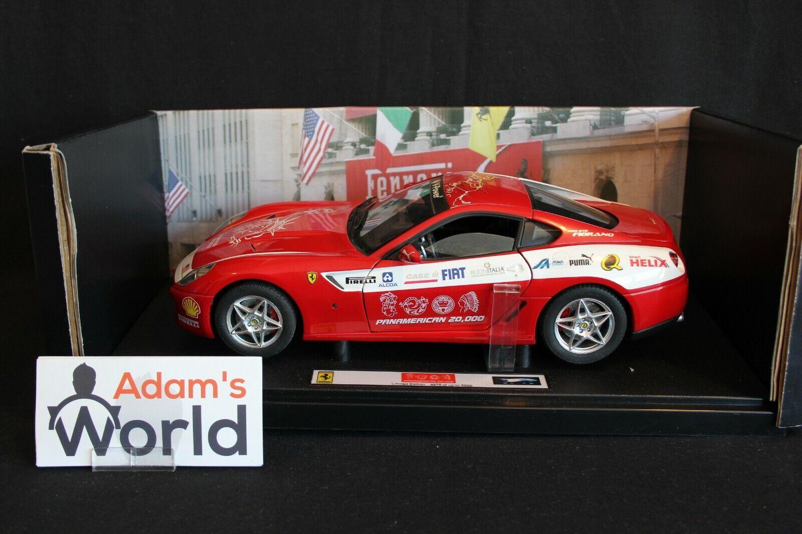vieni a scegliere il tuo stile sportivo Caliente Ruedas Elite Ferrari 599 599 599 GTB Fiorano 1 18 rosso  Panamerican 20.000  (PJBB)  economico in alta qualità