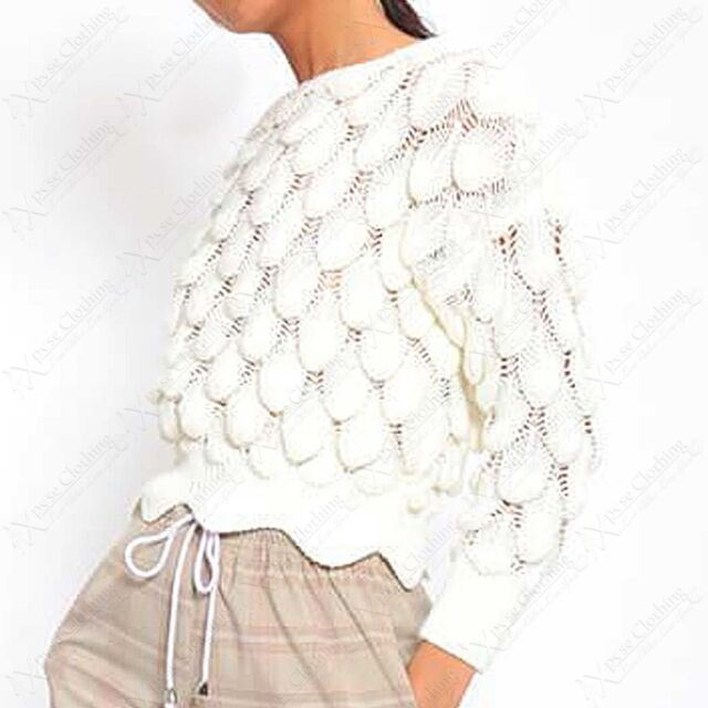 Frauen Mode Slash Hals lange asymmetrische Saum umschließt Poncho Cape JDDE 02