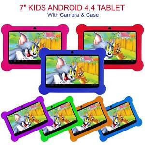 "7"" KIDS ANDROID 4.4 TABLET PC QUAD CORE WIFI Camera UK STOCK CHILD CHILDREN UK"