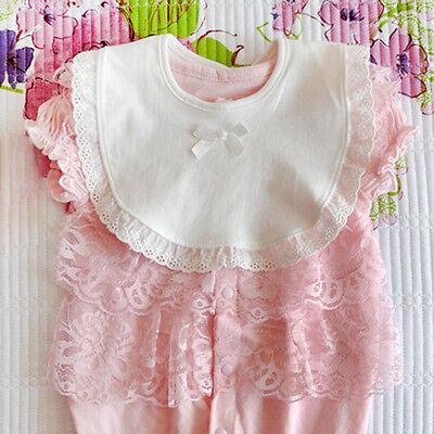 Luvable Friends baby-girls Basic Cotton Bandana Bib Set Bandana