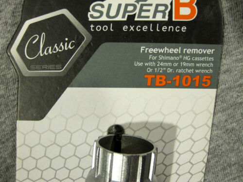 U.S Seller Super B TB-1015 Freewheel Remover Tool for Shimano SRAM Bike Casse