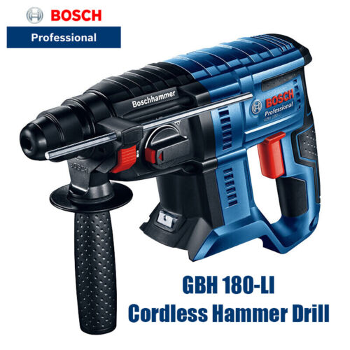 BOSCH Akkuschrauber GBH 180-LI 18V Cordless Drill Brushless Hammer Percussion