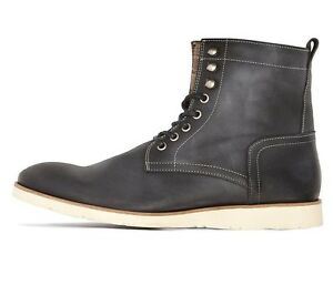 new arrival 409e2 44d22 Details zu SELECTED HOMME by JACK & JONES - SEL SUTTON SCHWARZ - Herren  Schuhe / Stiefel