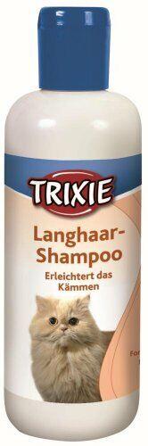 Trixie Champú gato para el pelo largo