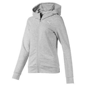 PUMA-Women-039-s-Modern-Sports-Full-Zip-Logo-Hoodie