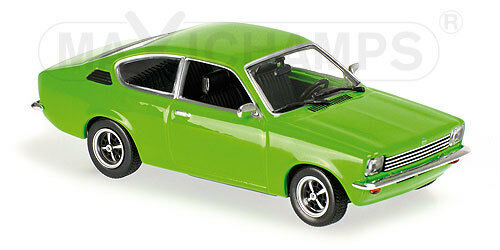 Minichamps 940045621-opel kadett c coupe - 1974-green 1 43