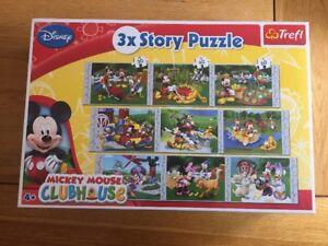 100% De Qualité Disney Mickey Mouse Clubhouse 3x Story Puzzle .30, 40,60 Pièces. Marque Nouvelle énorme Boîte-0 Piece.brand New Huge Box Fr-fr Afficher Le Titre D'origine Haute RéSilience