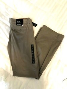 Banana Republic Ryan Fit Bootcut 8 32  Womens Brown Khaki Casual Dress Pants