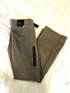 Banana-Republic-Ryan-Fit-Bootcut-8-32-Womens-Brown-Khaki-Casual-Dress-Pants