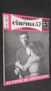 Rivista Mensile per Lettera Cinema N° 23 Natale 1957 Be