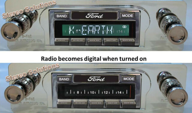 1960-63 Ford Falcon NEW USA-630 II* 300 watt AM FM Stereo Radio iPod, USB, Aux