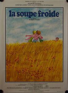 Affiche-Cinema-SOUPE-FROIDE-1975-POURET-Negulesco-Laurent-Moreau-60x80